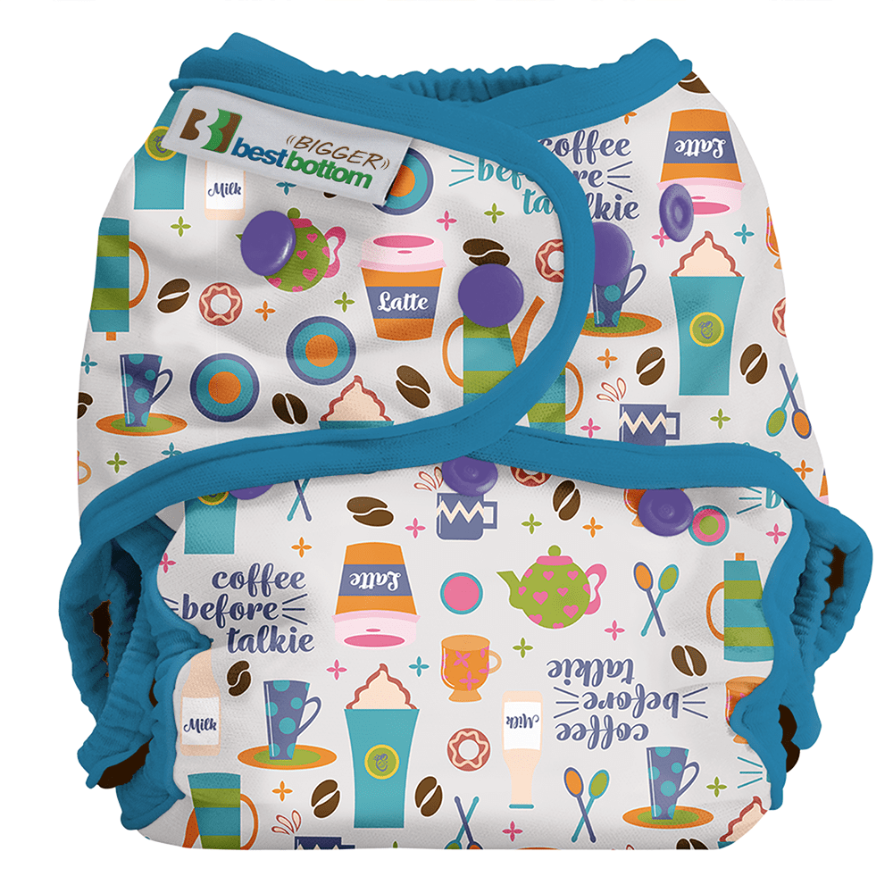 Best Bottom BIGGER All In Two Diaper Cover - Coffee Before Talkie