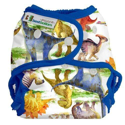 Best Bottom BIGGER All In Two Diaper Cover - Dino Mite