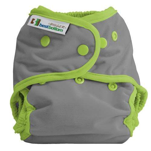 Best Bottom BIGGER All In Two Diaper Cover - Dragonfly Ripple