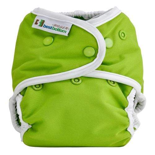 Best Bottom BIGGER All In Two Diaper Cover - Key Lime Pie