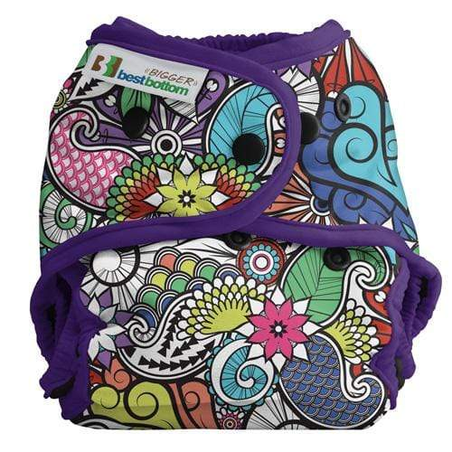Best Bottom BIGGER All In Two Diaper Cover - Oasis
