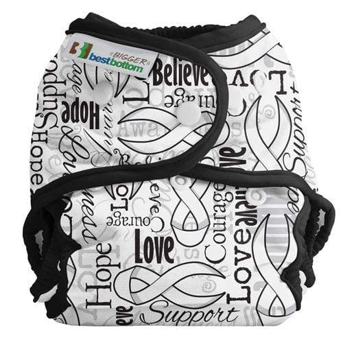 Best Bottom BIGGER All In Two Diaper Cover - Riboons of Hope