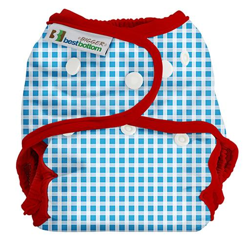 Best Bottom BIGGER All In Two Diaper Cover - Ruby Slippers