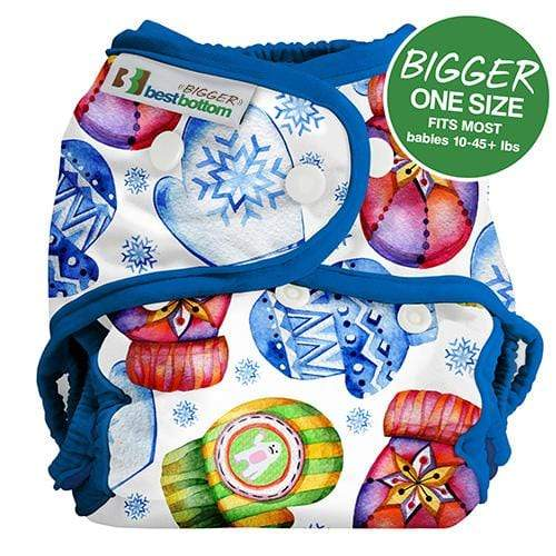 Best Bottom BIGGER All In Two Diaper Cover - Smitten