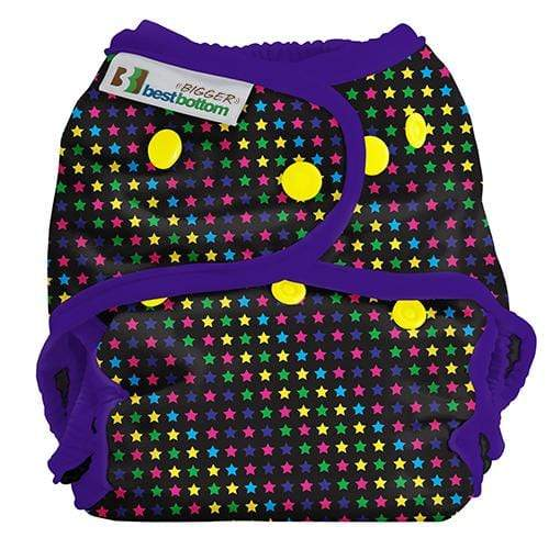 Best Bottom BIGGER All In Two Diaper Cover - Sprinkled Stars