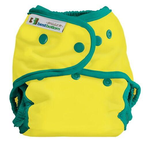 Best Bottom BIGGER All In Two Diaper Cover - Sunny Skies