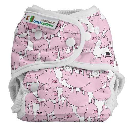 Best Bottom BIGGER All In Two Diaper Cover - This Little Piggy