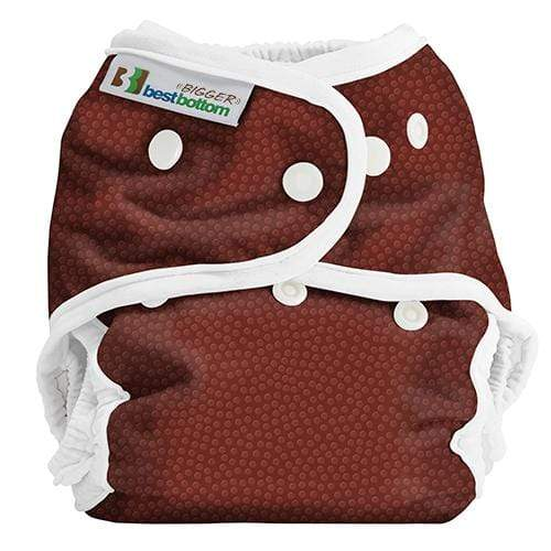Best Bottom BIGGER All In Two Diaper Cover - Tight End