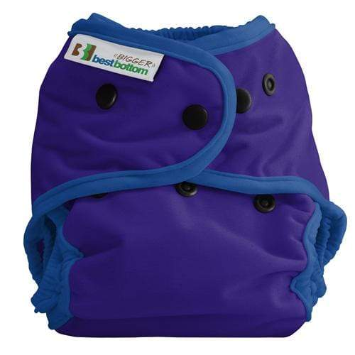 Best Bottom BIGGER All In Two Diaper Cover - Vino