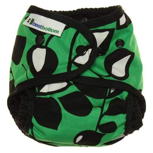 Best Bottom Cotton All In Two Diaper Cover - Laughing Leaf