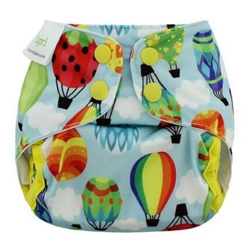 Blueberry Capri Newborn Diaper Cover - Balloons Newborn