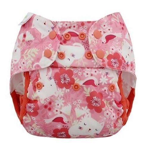 Blueberry Capri Newborn Diaper Cover - Kittens Newborn