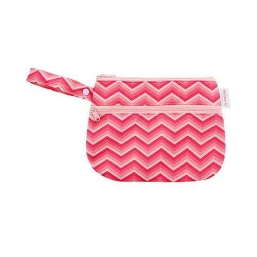 Blueberry Diapers Clutch - Pink Chevron