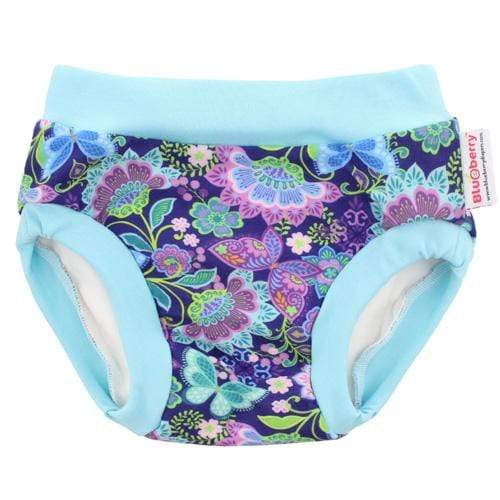 Blueberry Diapers Daytime Trainers - Butterfly Garden L