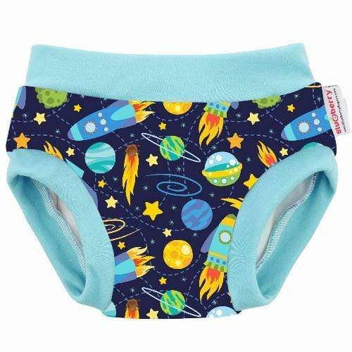 Blueberry Diapers Daytime Trainers - Space S