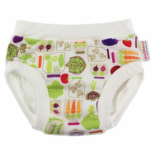 Blueberry Diapers Daytime Trainers - Veggies S