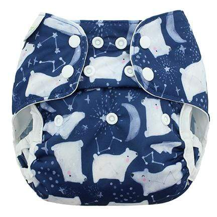 Blueberry & Me One Size Capri Diaper Cover - Arctic Nights One Size