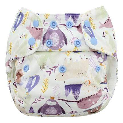 Blueberry & Me One Size Simplex Organic Cotton Diaper - Wally One Size