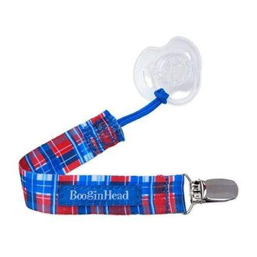 BooginHead PaciGrip Pacifier Holder - Cherry Pie