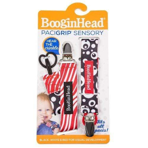 BooginHead PaciGrip Pacifier Holder - Crinkle 2Pk