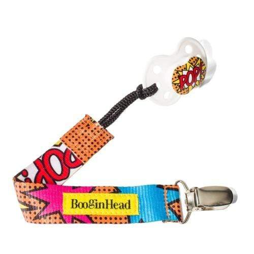 BooginHead PaciGrip Pacifier Holder - Pop