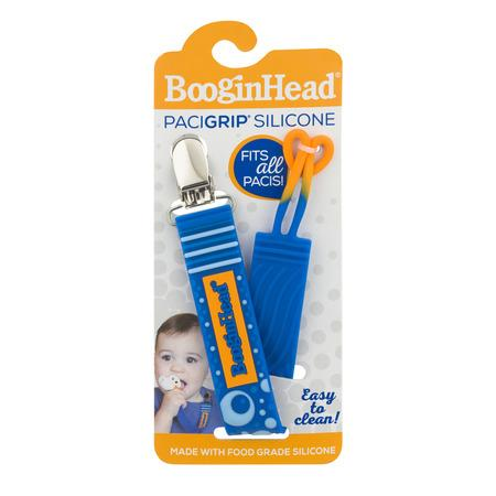 BooginHead PaciGrip Pacifier Holder - Silicone