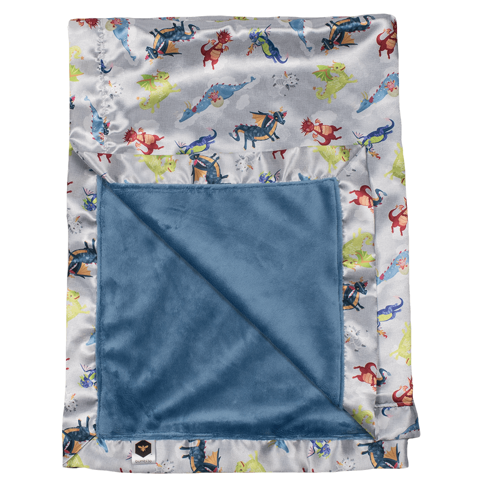 Bumblito Baby Bee Luxe Blanket - Dragon Dreams