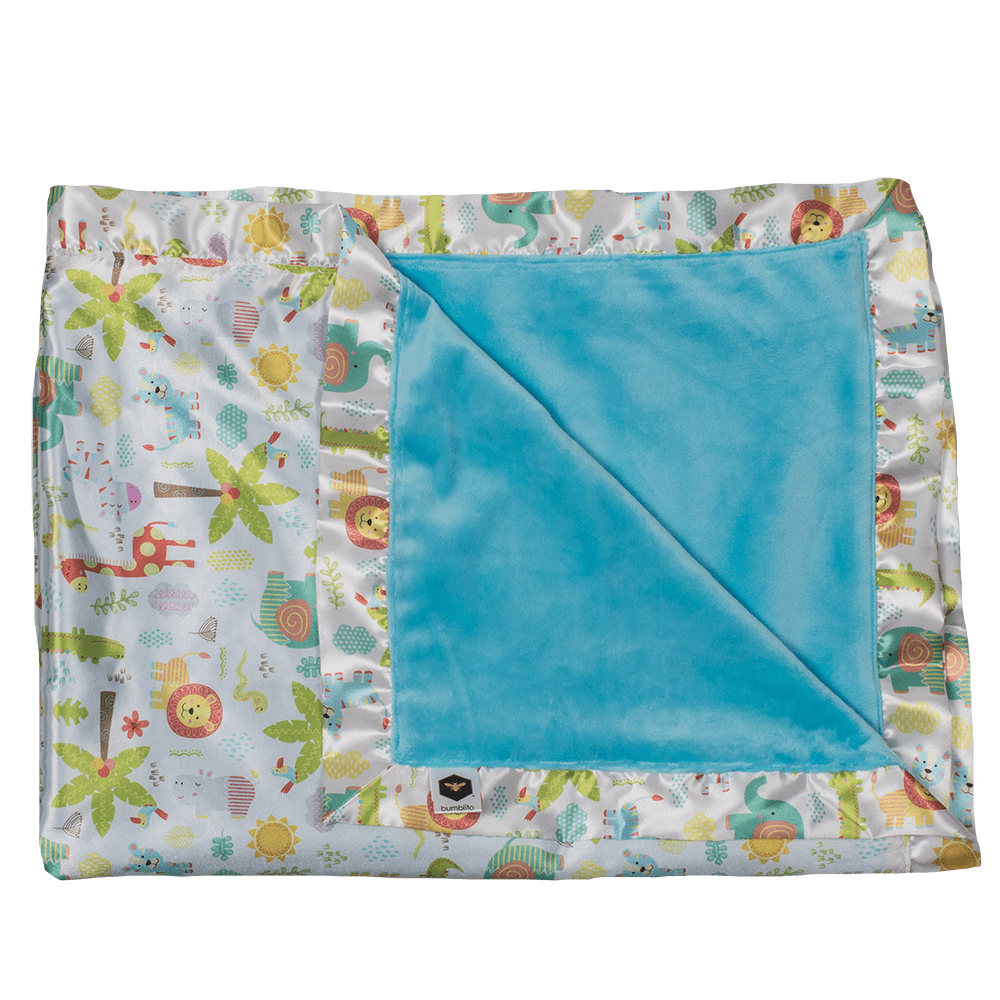 Bumblito Baby Bee Luxe Blanket - Wild About You