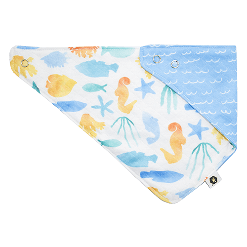 Bumblito Bandana Bib - Splash