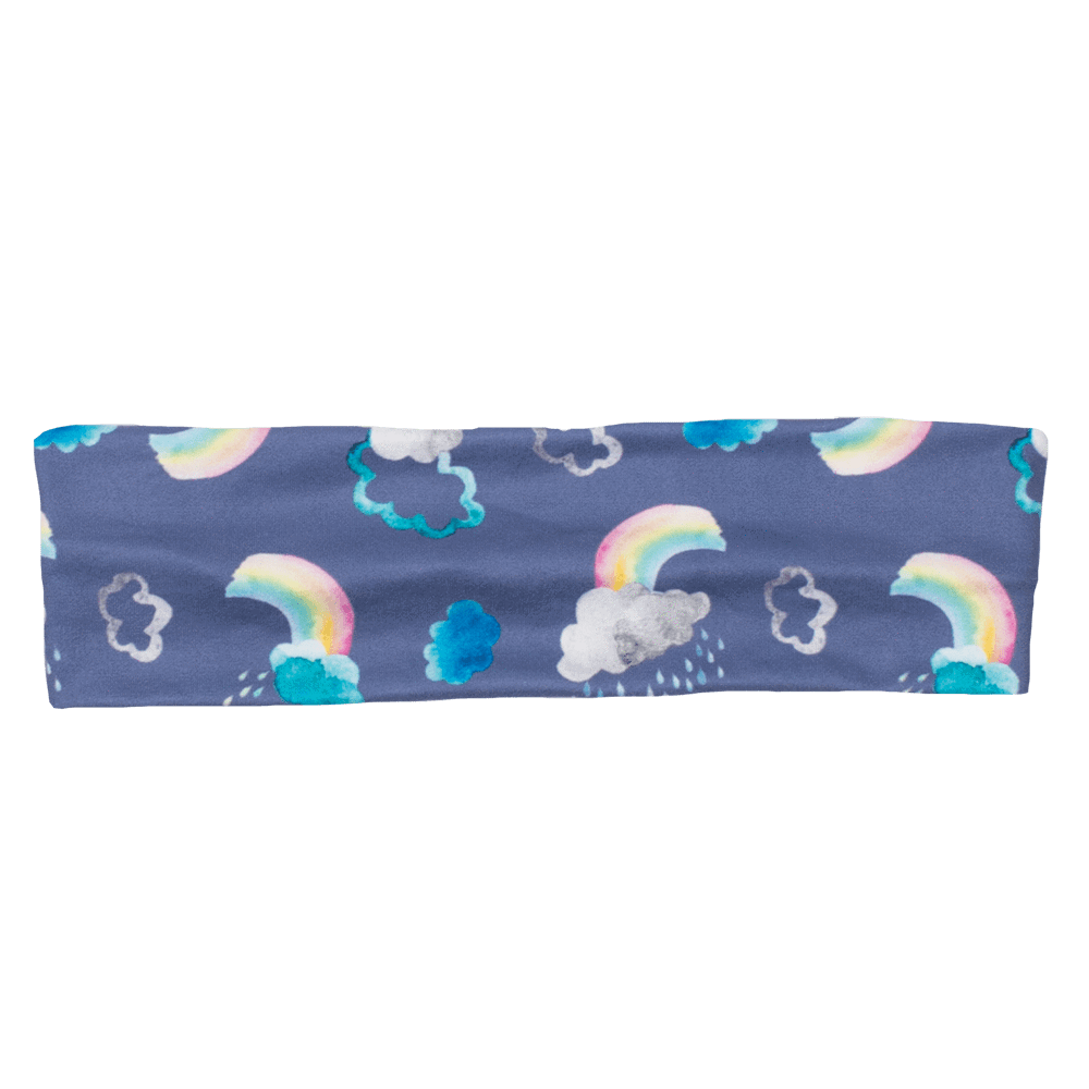 Bumblito Flat Headband - Over the Rainbow