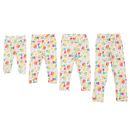 Bumblito Leggings - Birthday Party