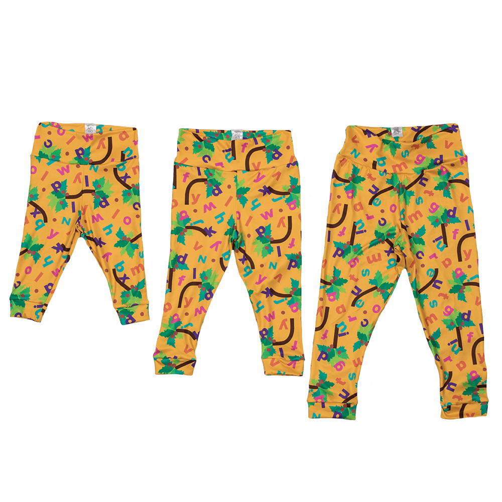 Bumblito Leggings - Chicka Chicka Boom Boom