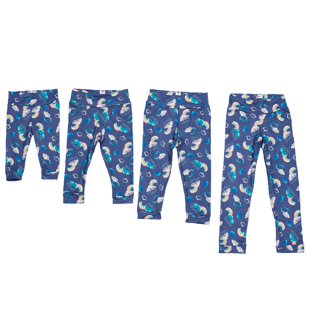 Bumblito Leggings - Over the Rainbow