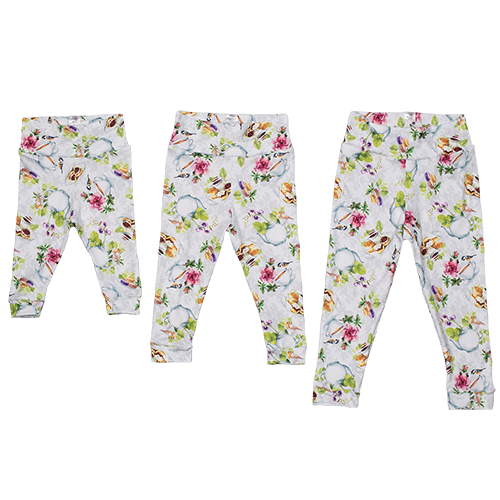Bumblito Leggings - Tea Party S