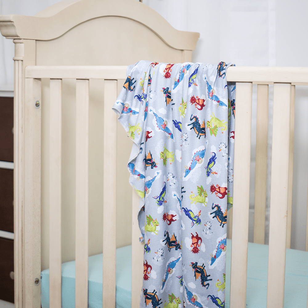 Bumblito Stretch Swaddle Set - Dragon Dreams