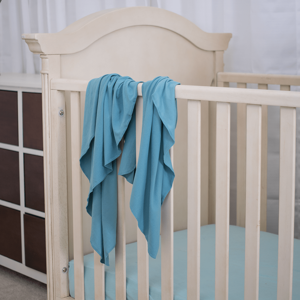 Bumblito Stretch Swaddle Set - Seafoam