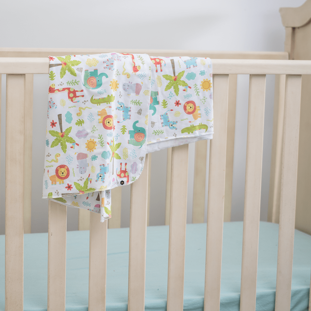 Bumblito Stretch Swaddle Set - Wild About You