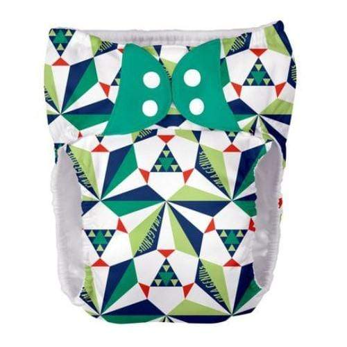 bumGenius BIGGER Pocket Diaper - Sierpinski XL