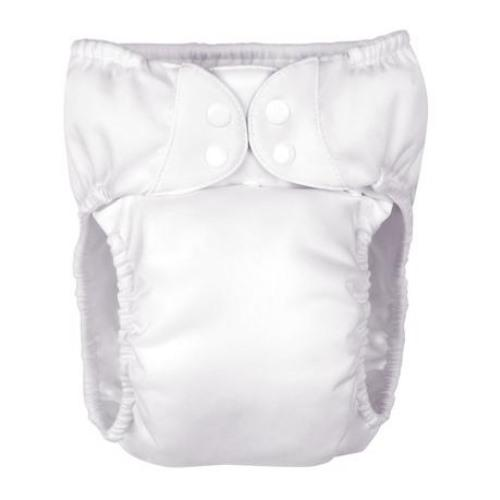 bumGenius BIGGER Pocket Diaper - White XL