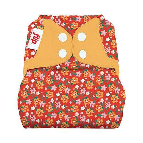 bumGenius One Size Flip Cover - Prairie Flowers
