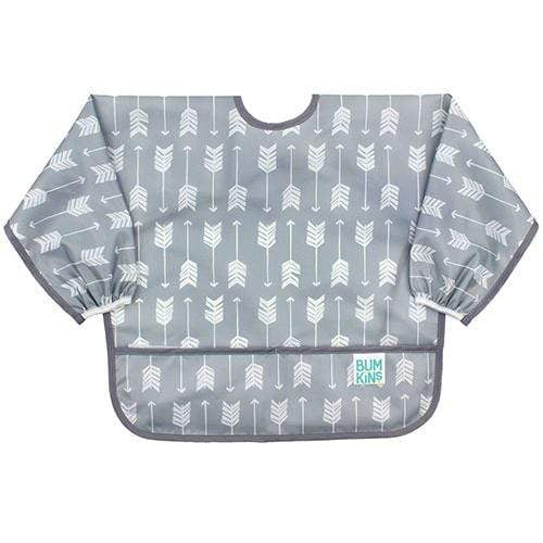 Bumkins Long Sleeved Bib - Arrow