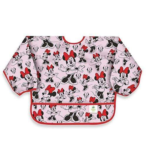 Bumkins Long Sleeved Bib - Disney Minnie Classic