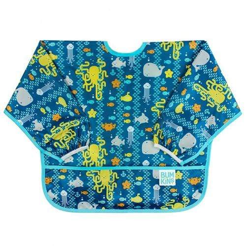 Bumkins Long Sleeved Bib - Sea Friends