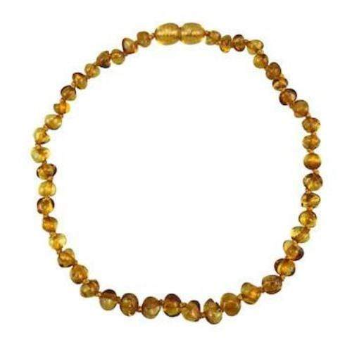 "Charlie Banana 13"" Amber Necklace - Baroque Polish Honey"