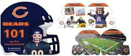 Chicago Bears 101 Board Book