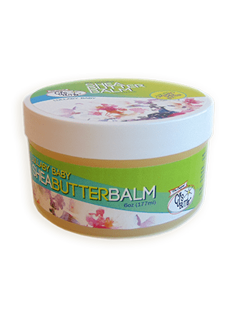 CJ's BUTTer Shea Butter Balm 6 oz Pot Body Butter - Lullaby Baby