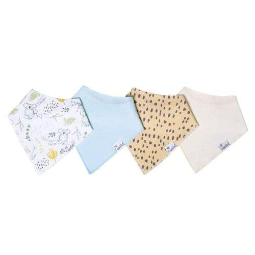 Copper Pearl Baby Bandana Bib Set - 4 Pack - Aussie