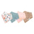 Copper Pearl Baby Bandana Bib Set - 4 Pack - Autumn