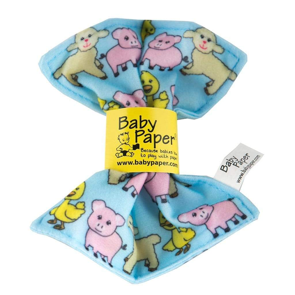 Crinkly Baby Paper - Farm