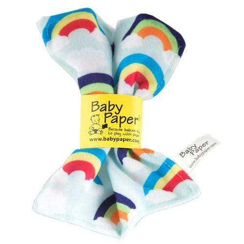 Crinkly Baby Paper - Rainbows